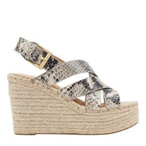 Marc Fisher Alenni Platform Wedge Sandals